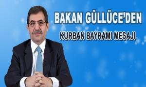 Bakan Güllüce'den Kurban Bayramı Mesajı
