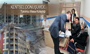 Ankara'da Kentsel Dönüşümde Turuncu Masa Kolaylığı