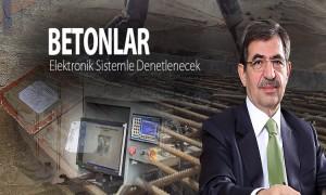 Betonlar Elektronik Sistemle Denetlenecek