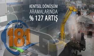 Kentsel Dönüşüm Aramalarında % 127 Artış