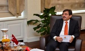 Bakan Güllüce KKTC Bakanı Hakan Dinçyürek ile Görüştü