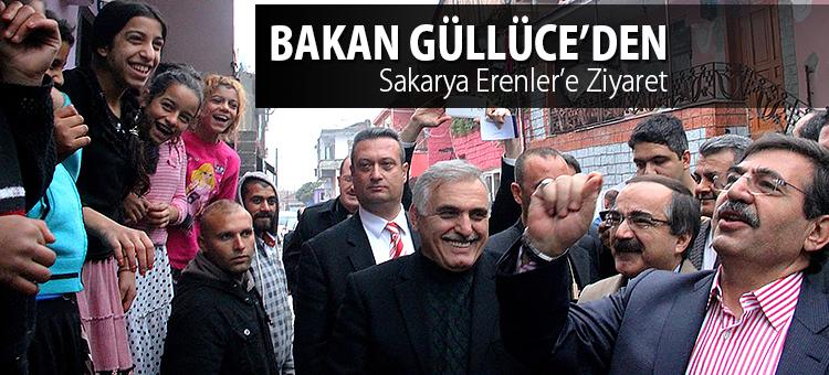 Bakan Güllüce'den Sakarya Erenler'e Ziyaret