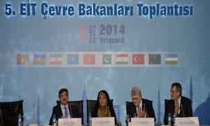 Bakan Güllüce 5. Çevre Bakanları Toplantısı'nda Konuştu