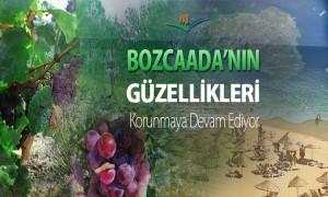 Bozcaada'nın Güzellikleri Korunmaya Devam Ediyor