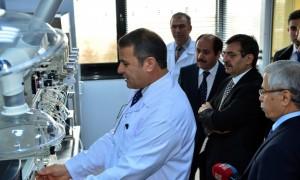 Bakan Güllüce Dioksin Furan Laboratuvar Kurulumu Programına Katıldı