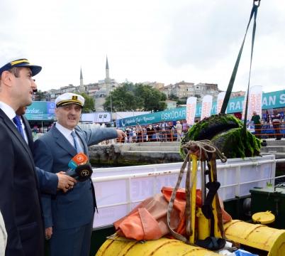 Daha temiz Boğaz için deniz süpürgeleri işbaşında