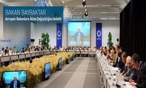 Bakan Bayraktar Avrupalı Bakanlara İklim Değişikliğini Anlattı