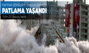 Kentsel Dönüşüm Başvurularında Patlama Yaşandı