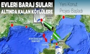 Evleri Baraj Suları Altında Kalan Köylülere Yeni Konut Projesi Başladı