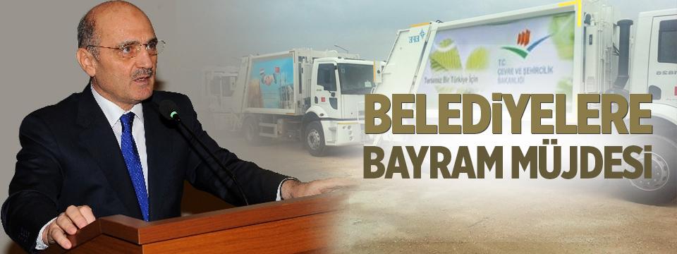Bakan Bayraktar'dan Belediyelere Bayram Müjdesi
