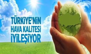 Türkiye'nin Hava Kalitesi İyileşiyor