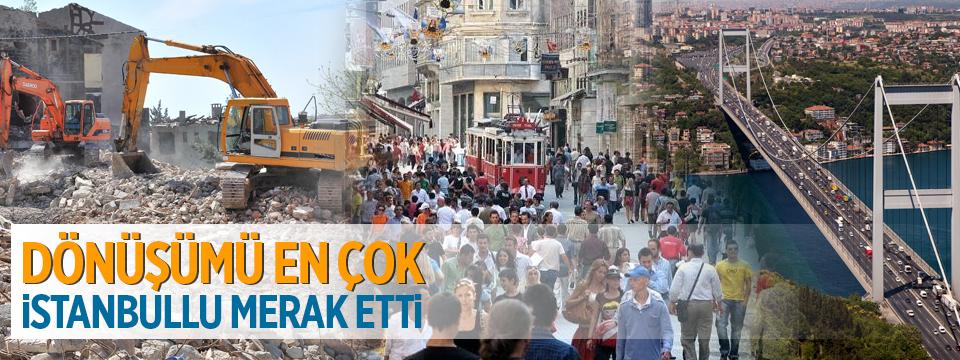 Dönüşümü En Çok İstanbullu Merak Etti