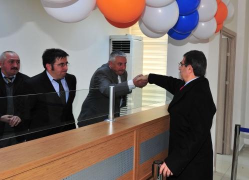 Çevre ve Şehircilik Bakanı İdris Güllüce Amasya'da