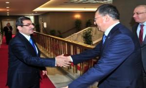 Bakan Güllüce Romanya ve Kazakistan Büyükelçilerini Makamında Kabul Etti