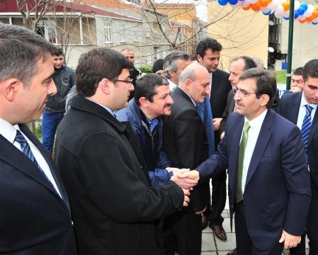 Bakan Güllüce Bağcılar'da 57 Tesisin Toplu Açılış Törenine Katıldı