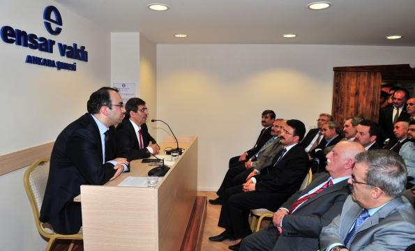 Bakan İdris Güllüce Ensar Buluşmaları Konferansına Konuşmacı Olarak Katıldı