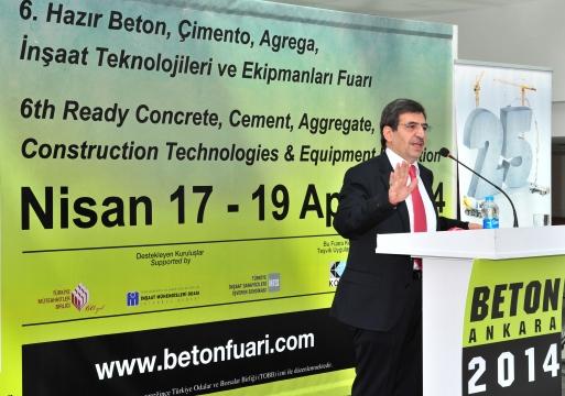 Beton Ankara 2014 Fuarı Açıldı