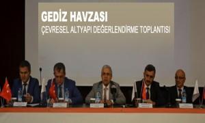 Gediz Havzası Çevresel Altyapı Değerlendirme Toplantısı