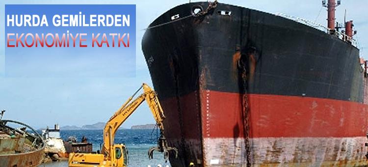 Yılın İlk 5 Ayında Hurda Gemilerden 38 Milyon Tl Ekonomiye Katkı Sağlandı