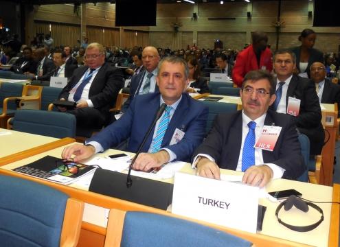 Bakan Güllüce Birleşmiş Milletler Çevre Meclisi'nin İlk Bakanlar Toplantısına Katıldı