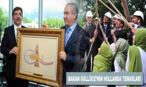 Çevre ve Şehircilik Bakanı İdris Güllüce'nin Hollanda Temasları