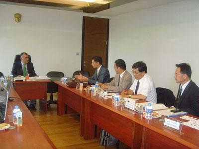 JAPON Yeni Enerji ve Endüstriyel Teknoloji Geliştirme Organizasyonu (NEDO) ile Yapı İşleri Genel Müdürlüğü İşbirliği Toplantısı