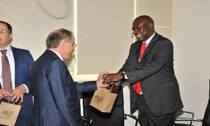 Kenya Heyetinin Başkanlığımızı Ziyareti