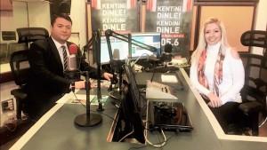 Başkanımız Sn. İsmail Raci BAYER TRT Kent Radyo Ankara'da