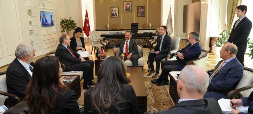 AB Türkiye Delegasyonu Başkanı Büyükelçi Sn. Christian BERGER, Sayın Bakanımızı ziyaret etti.