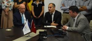 Avrupa Birliği ve Dış İlişkiler Dairesi Başkanı olarak görevlendirilen Sn. Mehrali ECER, Başkan Yardımcıları olarak görevlendirilen Sn. İsmail Raci BAYER ve Dr. Cengiz Taylan BAYKARA ile birlikte personel tanışma toplantısı gerçekleştirdi.