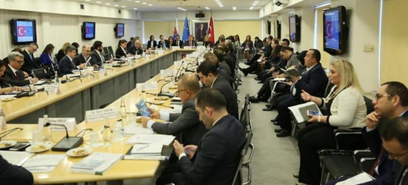 Avrupa Birliği Eşgüdüm Kurulu (ABEK) Toplantısı Gerçekleştirildi