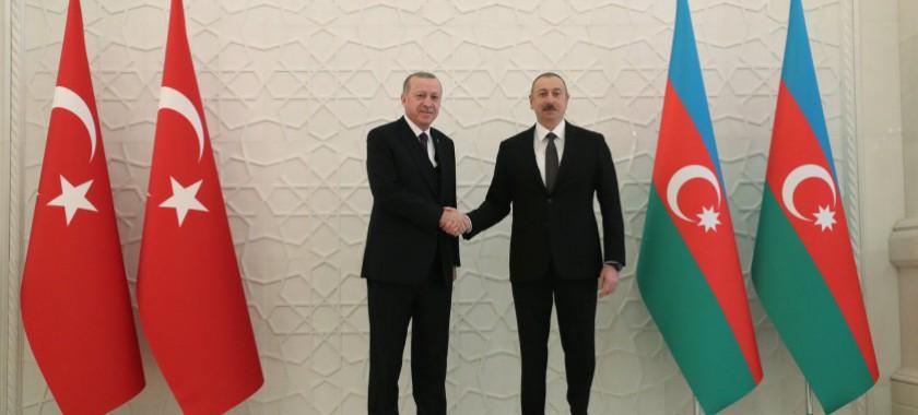 Bakanımız Sayın Murat KURUM Bakü'de Düzenlenen 8. Yüksek Düzeyli Stratejik İş Birliği Konseyi Toplantısına Katıldı
