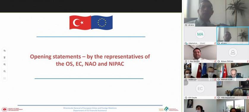 Çevre ve İklim Eylemi Sektör Operasyonel Programı'nın 7. Sektörel İzleme Toplantısı Gerçekleştirildi
