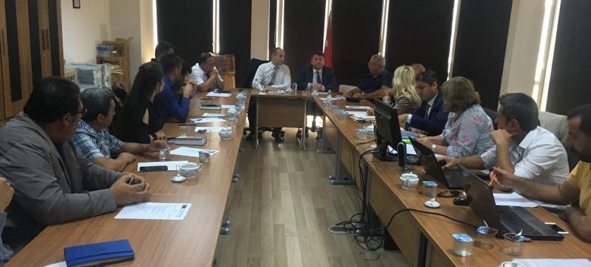 """""""Erciş İçmesuyu Temini Projesi"""" kapsamında Van - Erciş'te Saha Ziyareti ve 33. Aylık İlerleme Toplantısı Gerçekleştirildi"""