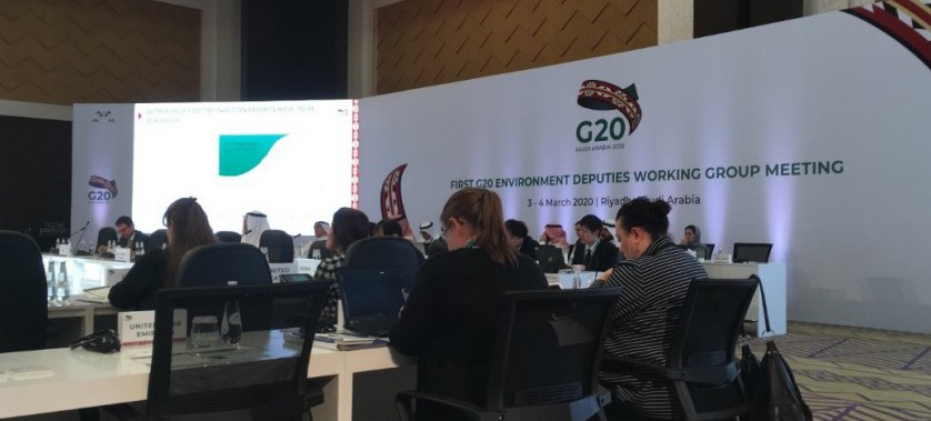 """G20 Birinci Çevre Temsilcileri Toplantısı """"Arazi Tahribatı ve Habitat Kaybı ile Mücadele"""" Temasıyla Gerçekleştirildi"""