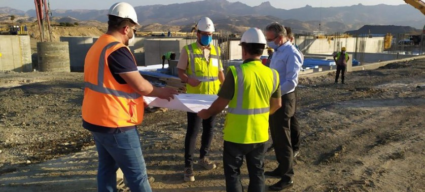 IPA- II Dönemi Çevre Altyapı Projelerimizden Şırnak Atıksu Arıtma Tesisi Projesine Saha Ziyareti Gerçekleştirildi