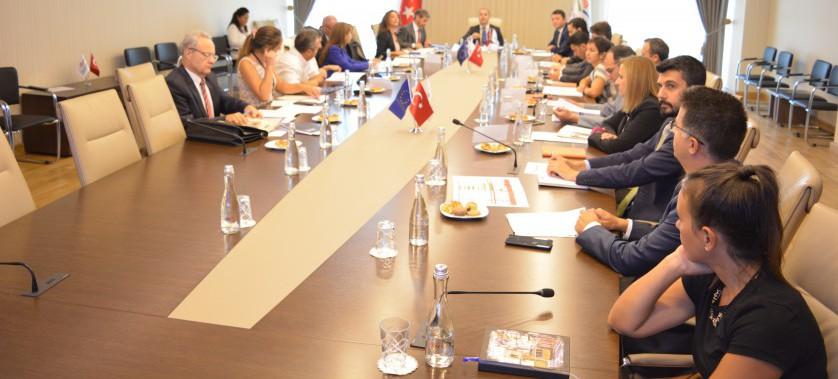 IPA finansmanı kapsamında gerçekleştirilen IPA-I ve IPA-II dönemi projelerini ele alan Aylık İzleme Toplantısı Bakanlığımızda gerçekleştirildi.