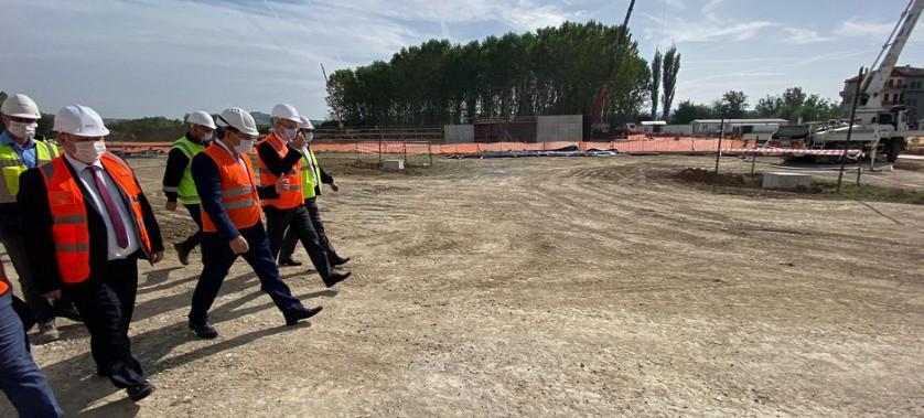 IPA-II Dönemi ÇİSOP Kapsamındaki Kastamonu Atıksu Arıtma Tesisi ve KASMİB Entegre Katı Atık Projelerine Saha Ziyareti Gerçekleştirildi