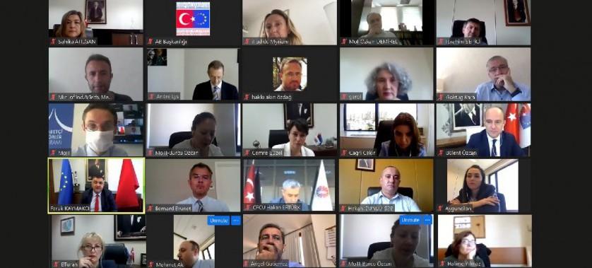 IPA İzleme Komitesi Toplantısı Çevrimiçi Olarak Gerçekleştirildi