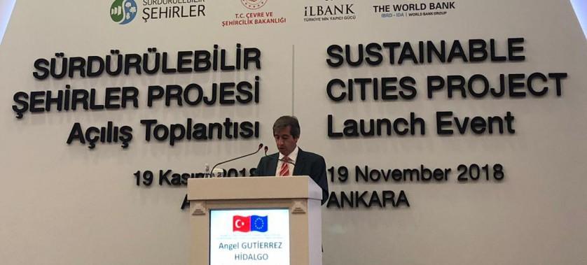 Sürdürülebilir Şehirler Projesi Açılış Töreni Sayın Bakanımız Murat KURUM'un Teşrifleriyle Gerçekleştirildi
