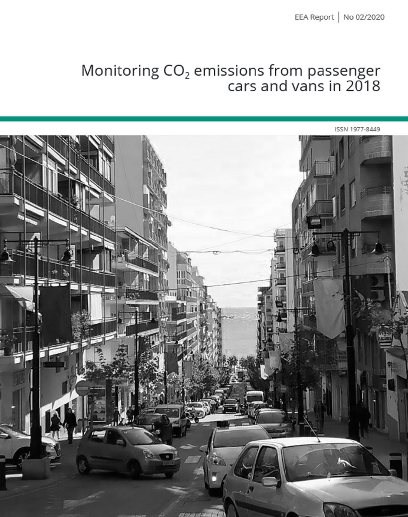 2018'de Binek Otomobiller ve Kamyonetlerden Kaynaklanan CO2 Emisyonlarının İzlenmesi Raporu