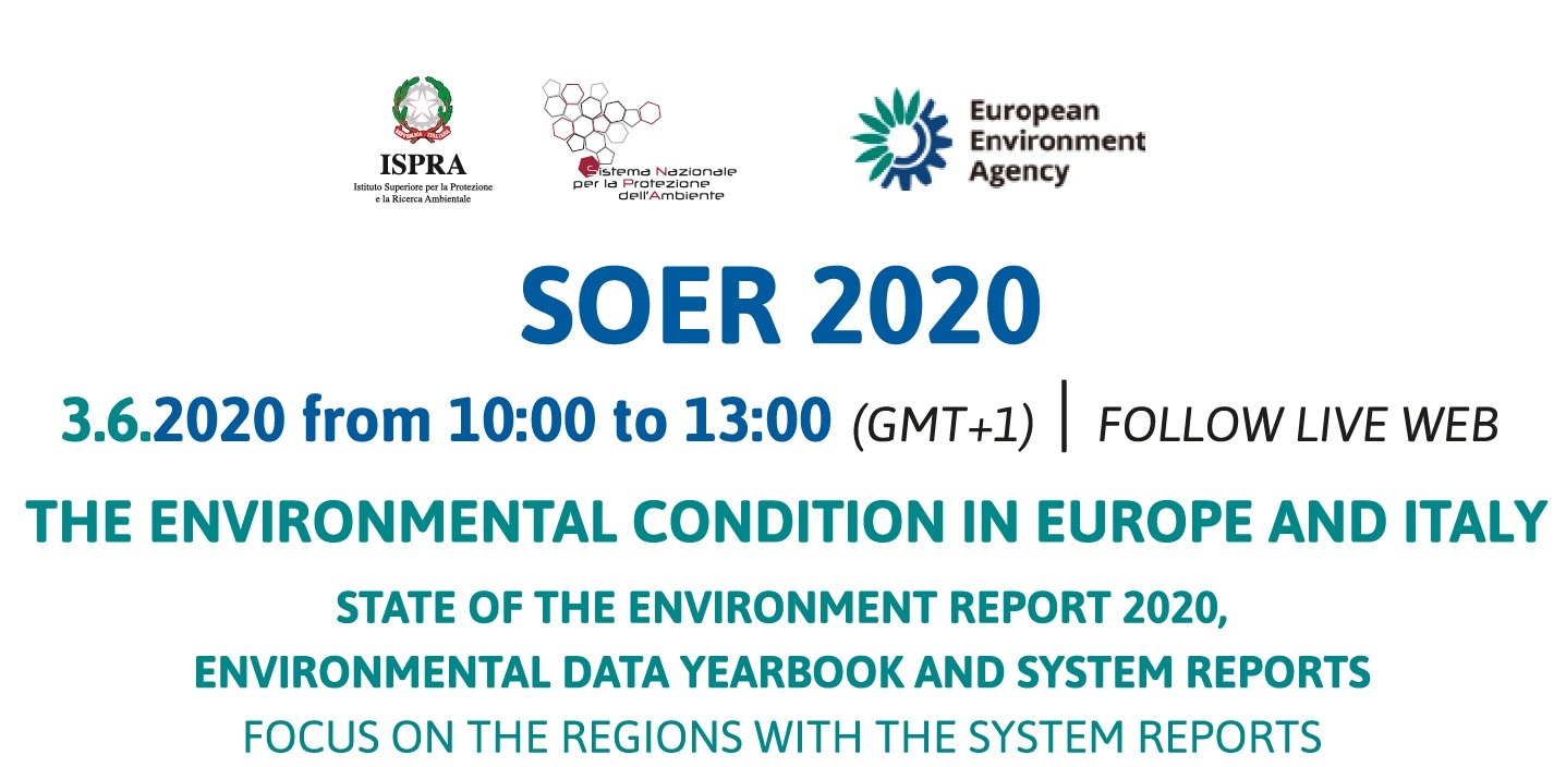 İtalya SOER 2020 Tanıtım Toplantısı