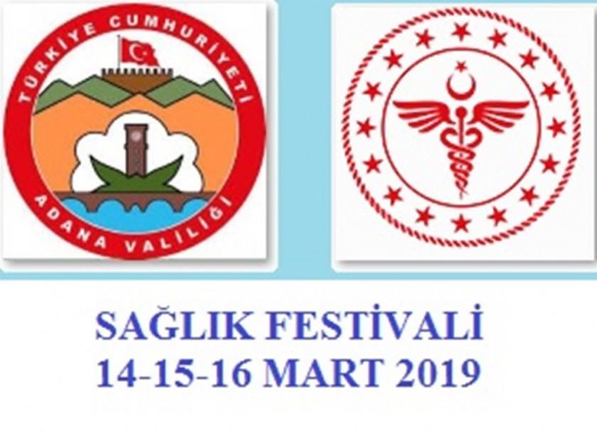 14-15-16 Mart 2019 tarihlerinde Valiliğimiz koordinasyonunda İl Sağlık Müdürlüğünce Sağlık Festivali düzenlenecektir.