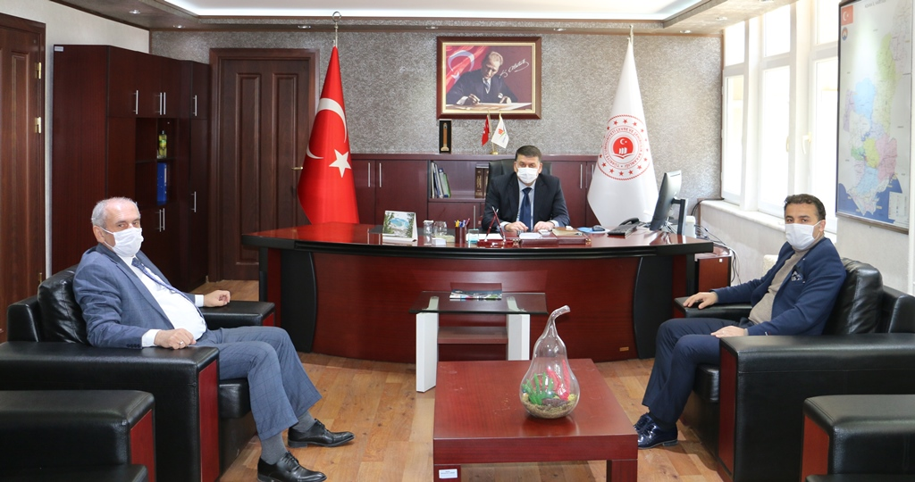 Adana Aile, Çalışma ve Sosyal Hizmetler İl Müdürü Nevzat ÖZER İl Müdürlüğümüzü ziyaret etti.