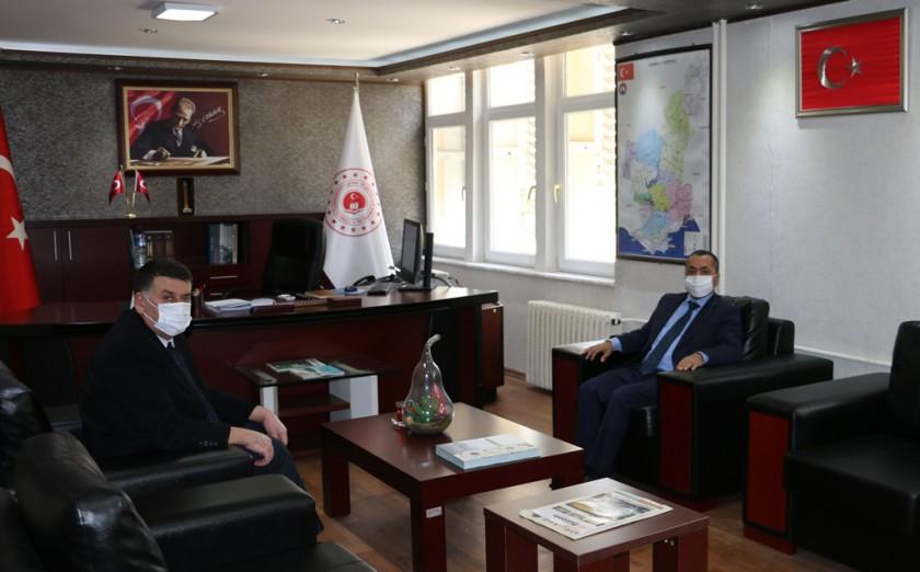 Adana İl Göç İdaresi Müdürü  Mustafa Cengiz BİLEN İl Müdürlüğümüzü ziyaret etti.