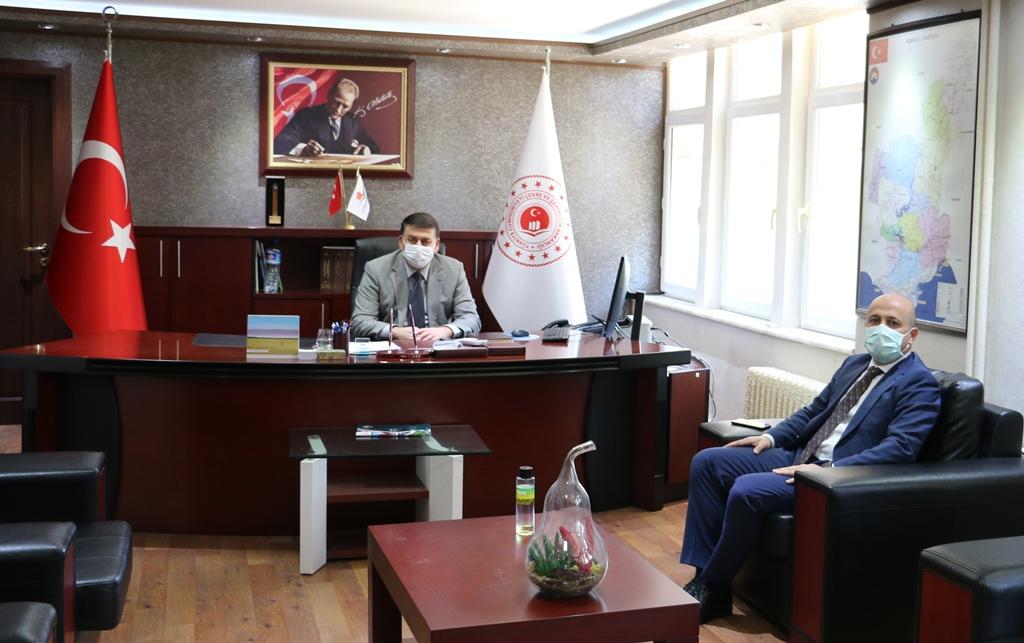 Adana İl Sağlık Müdürü Halil NACAR İl Müdürlüğümüzü ziyaret etti.
