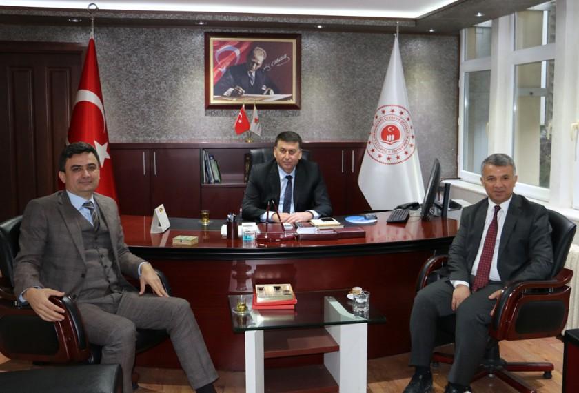 Adana Kadastro İl Müdürü Mustafa ŞEN'den hayırlı olsun ziyareti.