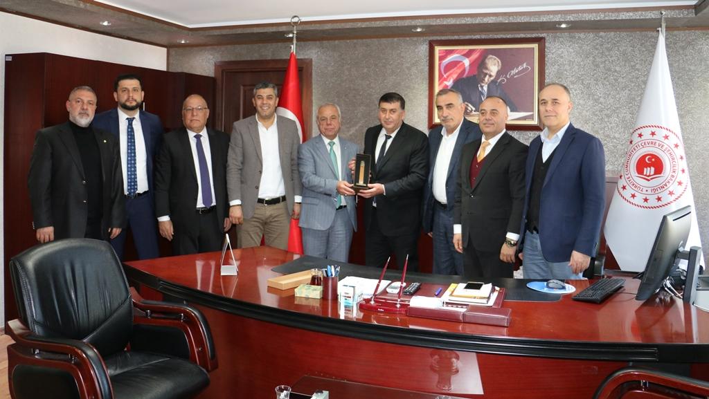 Adana Ticaret Odası Meclis Başkanı İsmail ACI ve Yönetim Kurulu Üyelerinden hayırlı olsun ziyareti.