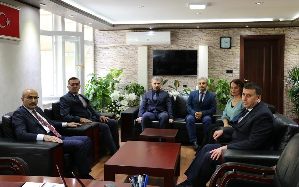 Adana Valimiz Sayın Mahmut DEMİRTAŞ'ın ziyareti.