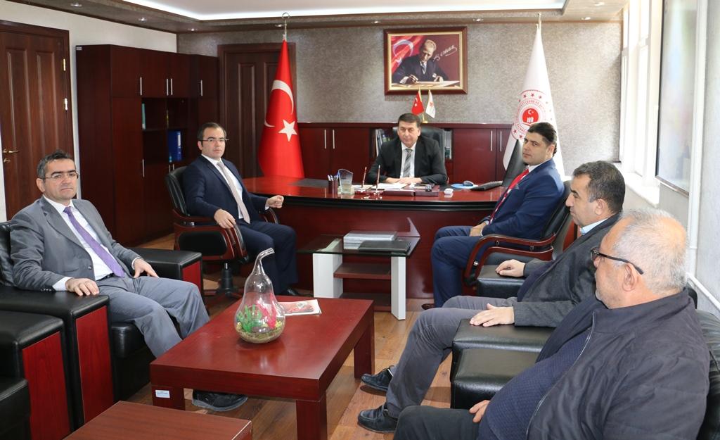 Adana Vergi Dairesi Başkanı Ahmet TUNALI'dan hayırlı olsun ziyareti.